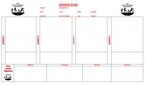 Football Session plan